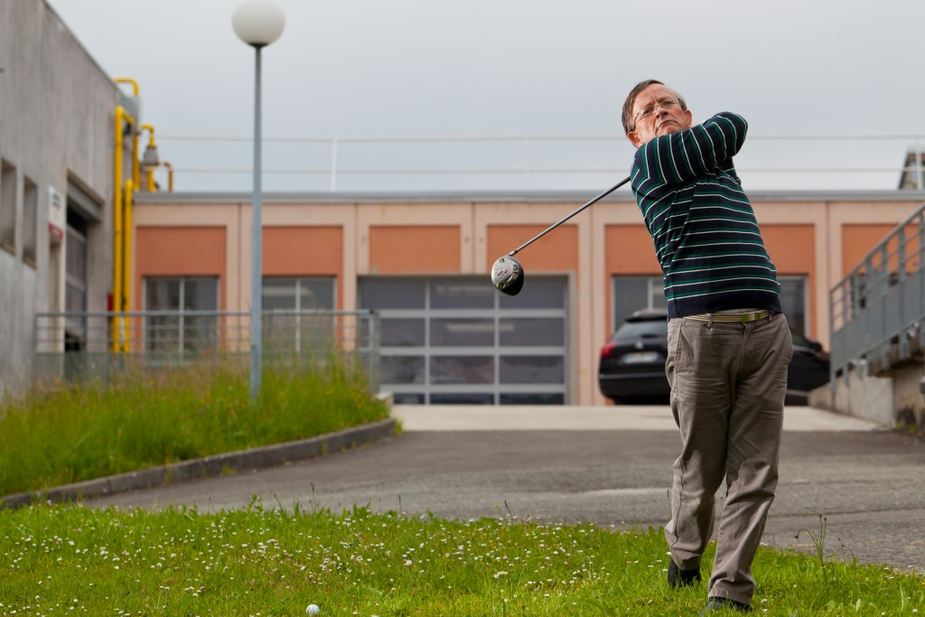 Pierre Guenebaut - Portrait - PSA - Sbarro Montbéliard - UTBM - Joueur Golf